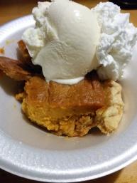 Sweet Potato Pie and Ice Cream