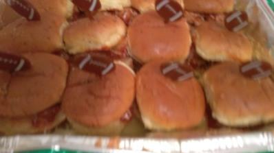 Mini Meatball Sliders