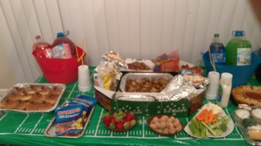 Super Bowl LII Spread