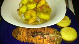 Jamaican Curry Shrimp and Curry Lobster