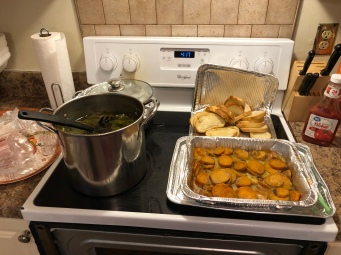 Christmas Dinner 2018 Dinner Spread