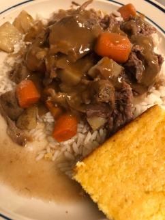 Beef Stew with Cornbread