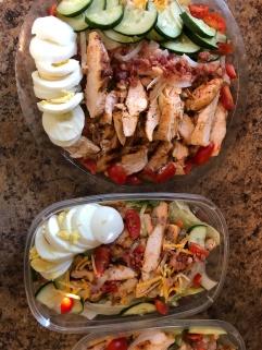 Grilled Chicken Salad Meal Prep